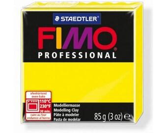 Fimo clay Professional yellow lemon 1-85gr
