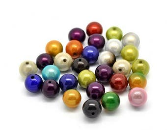 15 pearls magic Miracle multicolored 14mm