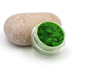 Glitter powder for creations resin Green - 5 grams