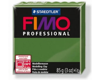 Fimo clay Professional 57-85gr Olive Green