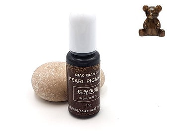 Pearlescent pigments 15grams Brown colorant