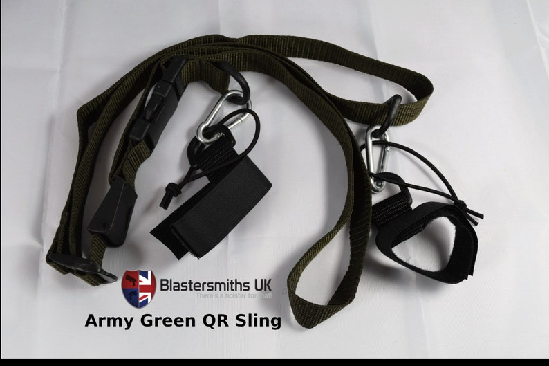 Quick Release Sling Army Green