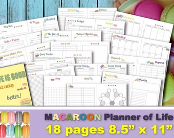 Happy planner budget printable inserts classic financial | Etsy