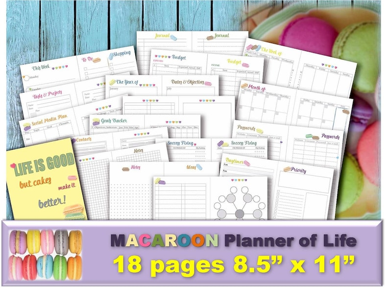 photo relating to Happy Planner Printable Inserts named Massive Delighted Planner printable inserts package webpages binder refill template _ Letter Dimension. Re-Dimensions is Absolutely free