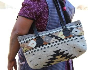 Shoulder Bag- Handwoven by Zapotec weavers
