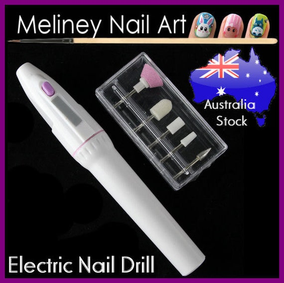 Electric nail drill Art File Buffer Shaper Manicure Sanding   Etsy