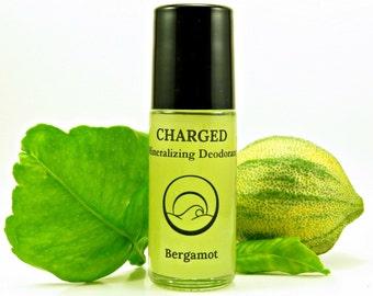 Bergamot-Magnesium Crystal Deodorant, Natural Deodorant for Women, Natural Deodorant for Men, Organic Deodorant, Aluminum Free Deodorant