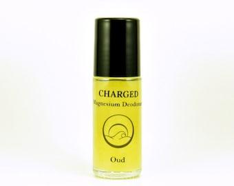 Oud-Magnesium Crystal deodorant, Natural Deodorant for Men, Natural Antiperspirant, Organic Deodorant, Deodorant that works, Best Deodorant
