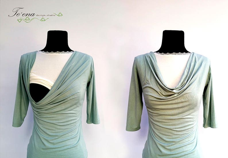 f9ce8becc95 Breastfeeding bralette Nursing top Cleavage cover