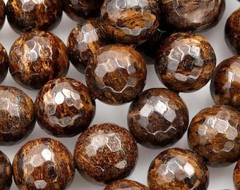 15.5 Inch, 8mm Round Beads Bronzite Beads 174054005