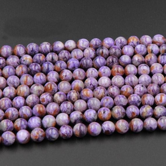 10mm Natural C Grade Amethyst Round Beads Oz Seller