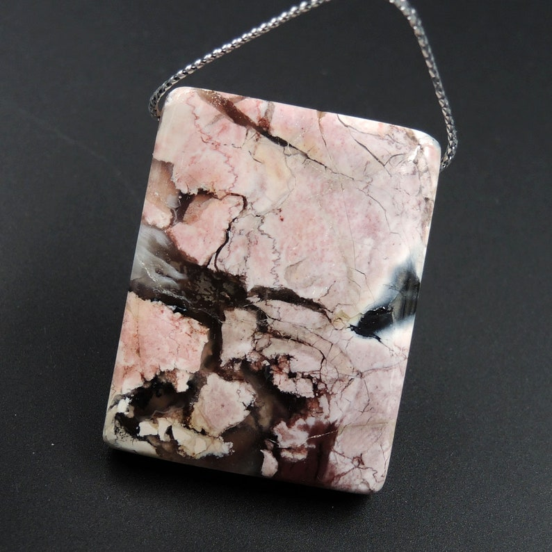 71efc4c6e Natural Tiffany Stone Pendant Side Drilled Natural Bertrandite   Etsy