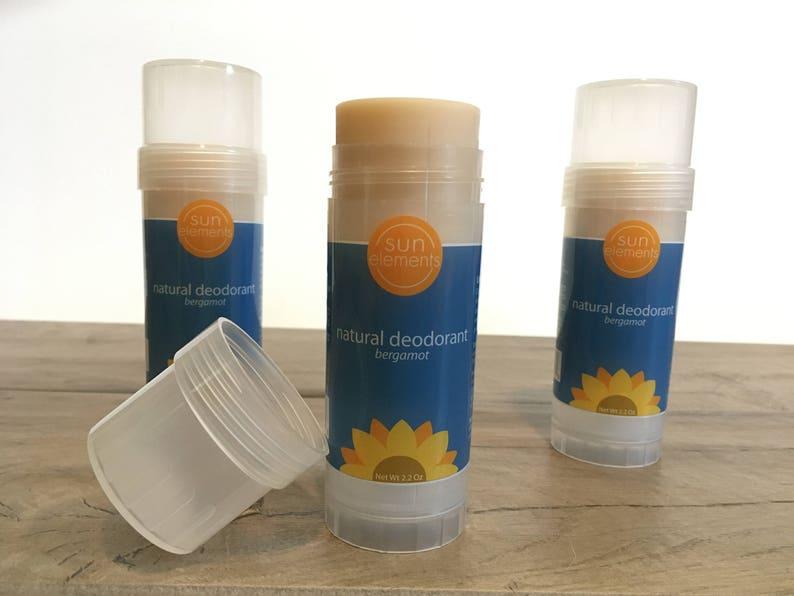 Natural Deodorant with Bergamot Essential Oil and Probiotics image 0