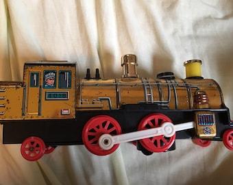 Sonstige Zug Santa Fe Dieselmotor Masuyada Litho Blech Spielzeug Vintage Japan Batterie