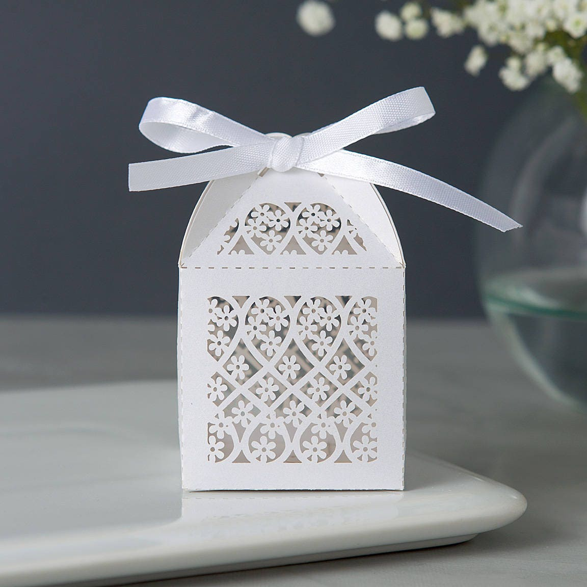 Bridal Shower Favor Boxes Wedding Favor Boxes Candy Favor Etsy