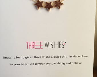 3 wishes necklace