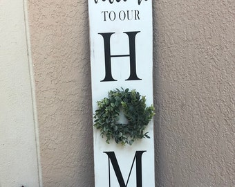 Merveilleux Welcome Sign For Front Porch | Etsy