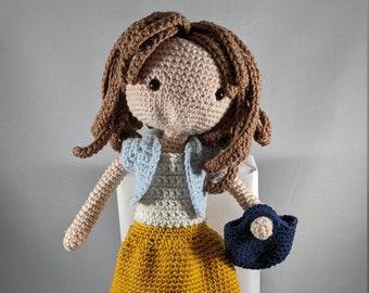 Crochet Doll - Iris