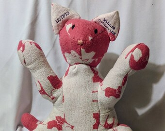 Keepsake Kitty Cat from Hospital Blanket