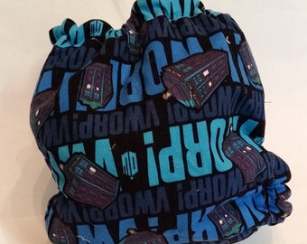 Doctor Who Fitted or Pocket Diaper