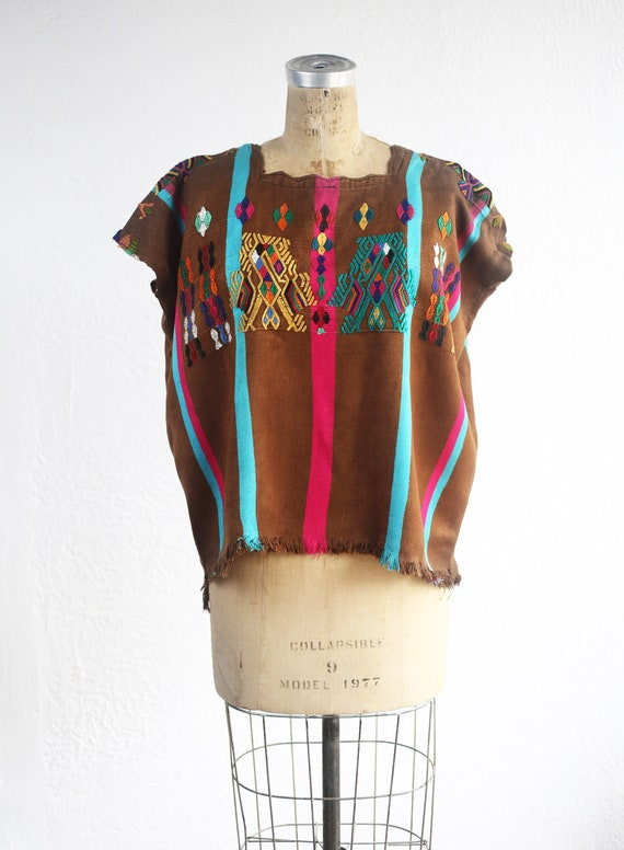 Beautiful Hand Embroidered Vintage Small XS 60's C