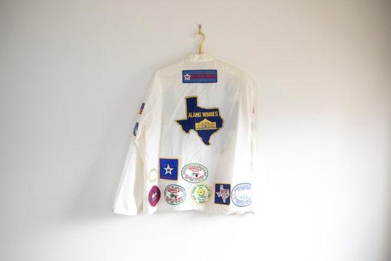Vintage Winnebago Tourist Souvenir Jacket covered
