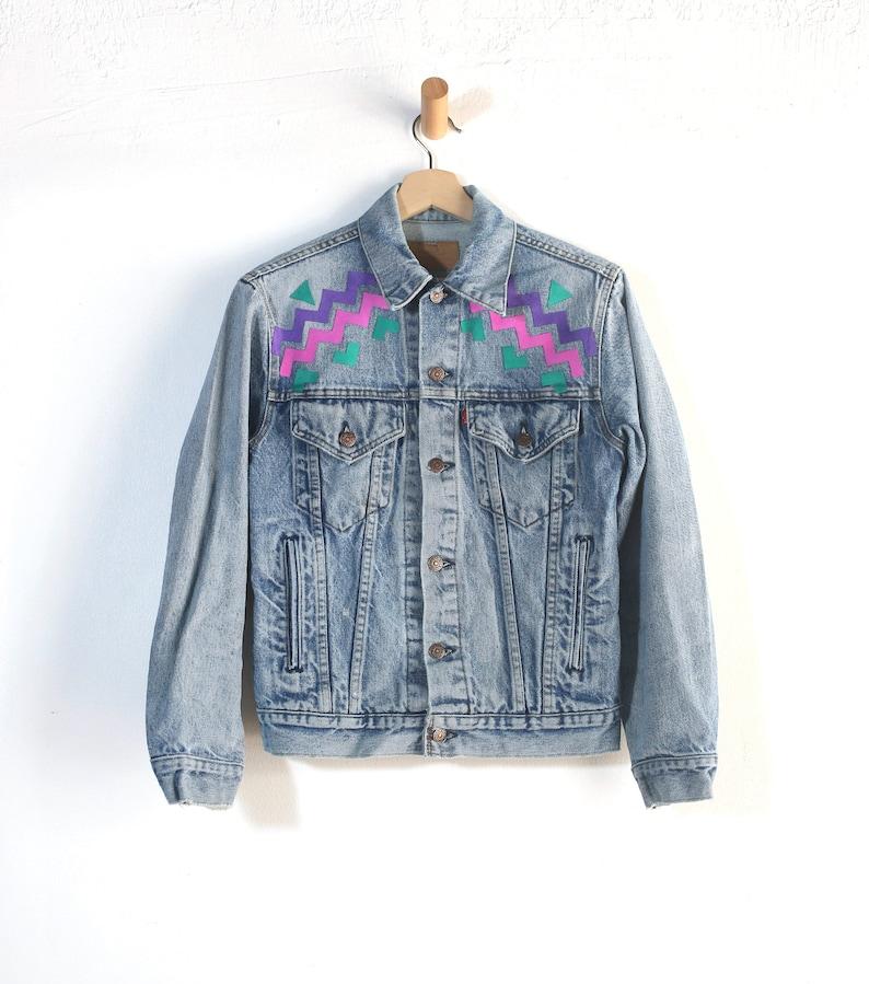 0656c8ddc95 Vintage Womens Small Levi Strauss Denim Jacket / Levis Jean | Etsy