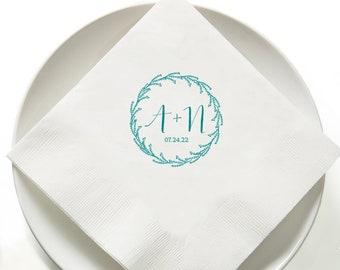 20cm x 20cm stenciled gray fabric dinner serviette 8 x 8 inch silver quatrefoil cloth napkin