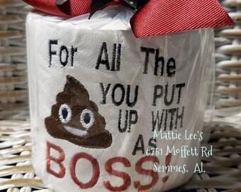 Funny Boss Gift Etsy