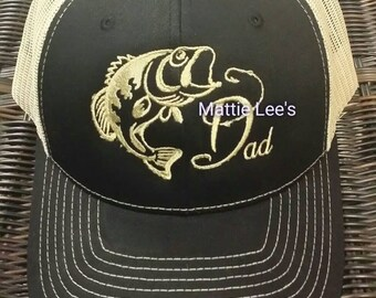 f980c43493a Fishing Dad Richardson Black Cap. Father s Day