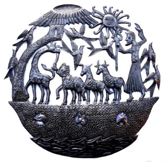 Art Under The Tree Haiti Metal Art