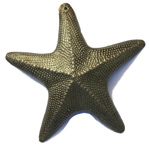 "Individual Starfish, Nautical Home Decor, Recycled Wall Art, Novelty Gift 8""x 8"""