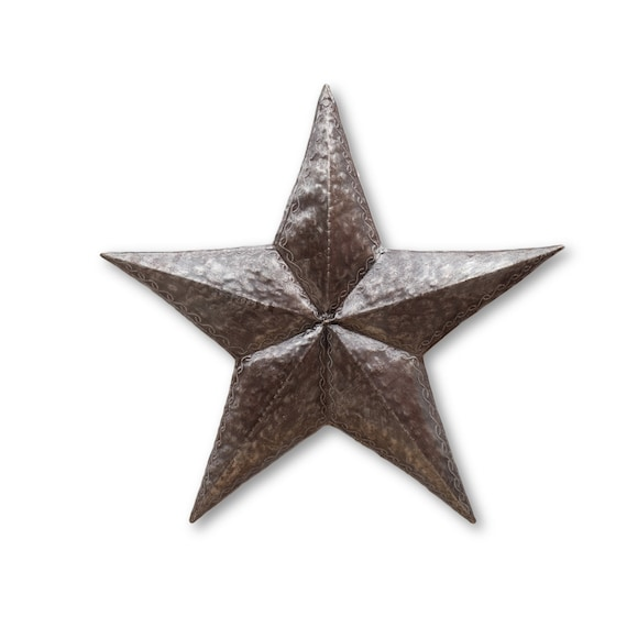 Nativity Star, Uniquely Handcrafted Haitian Metal Star, One-of-a-Kind 21.5x21.5
