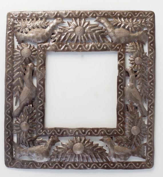 """Small Garden Frame with Birds 15.75"""" x 17"""""""