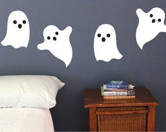 AA515 Halloween Witch Cartoon Cool Smashed Wall Decal 3D Art Stickers Vinyl Room Kids Bedroom Baby Nursery Poster Livingroom Boys Girls Hole