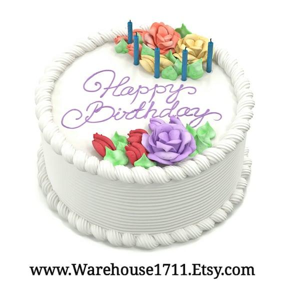 Birthday Cake Candle Bath Body Fragrance Oil