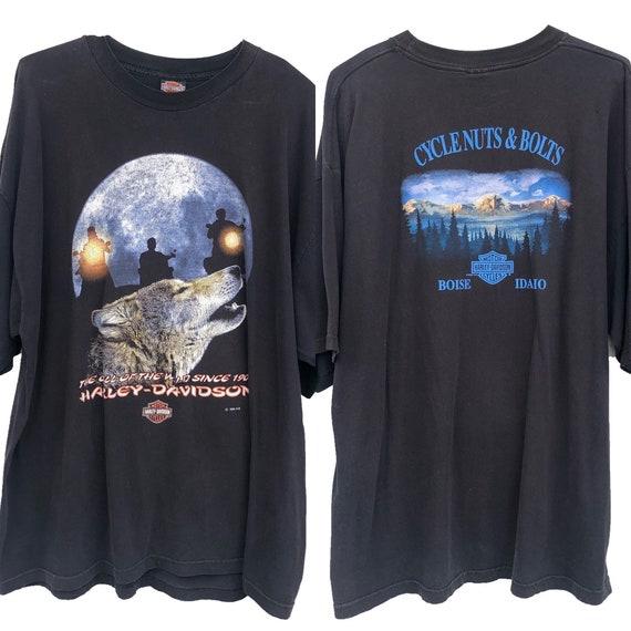 Vtg Harley Shirt, Harley shirt 3X, 3D emblem shirt