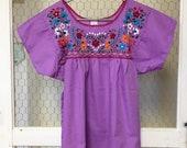 Mexican blouse, Fiesta blouse, Cinco de Mayo - Women 39 s small -ready to ship
