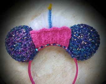 Unbirthday MOUSE EARS/Merry Unbirthday Ears/Mouse Ear Headband