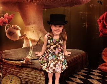 Alice in Wonderland Whimsical Dress