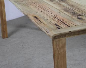 Aufgearbeiteten Holz Tisch Mit Wunderschönen Konischen Beinen, Naturholz,  Geborgen, Bilden Diese Stilvollen Tisch   The Konisch Kent.