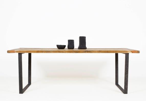 Aufgearbeiteten Holz Esstisch die BUSINESS-KENT | Etsy