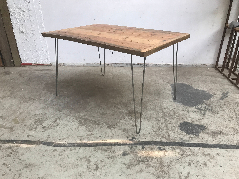 Holztisch Esstisch Stabil Hairpin Tischbein industrial