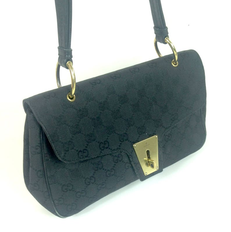 52ef2d34d905 GUCCI designer HAND BAG / clutch purse / shoulder bag / Made | Etsy
