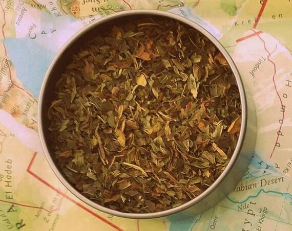Mystic Mint Tea // Loose Leaf Tin // Hand-Filled Tea Bags // Tea Tea // Tea Blend // Tarot Reader's Tea // Divination Tea