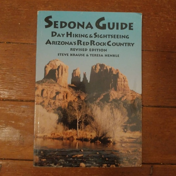 FREE SHIPPING 1991 Sedona Guide Day Hiking & Sightseeing // Vintage Paperback // 1956 // Used Book // Great Condition //