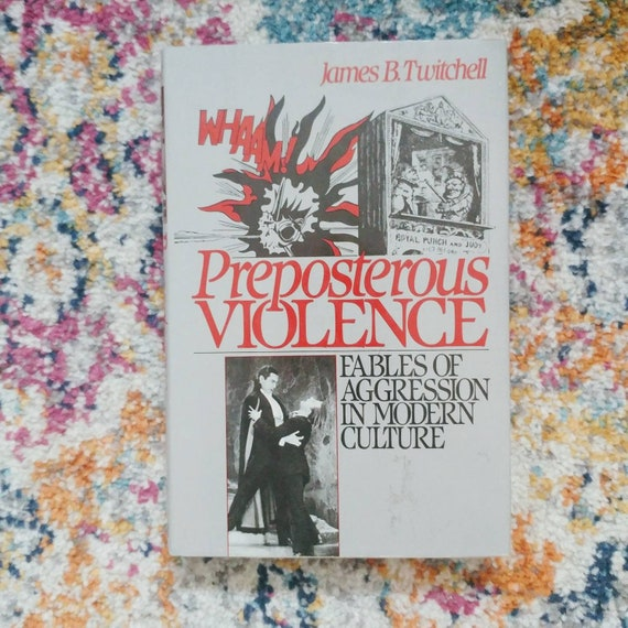 FREE SHIPPING Preposterous Violence by James B. Twichell // Oxford University Press // 1989