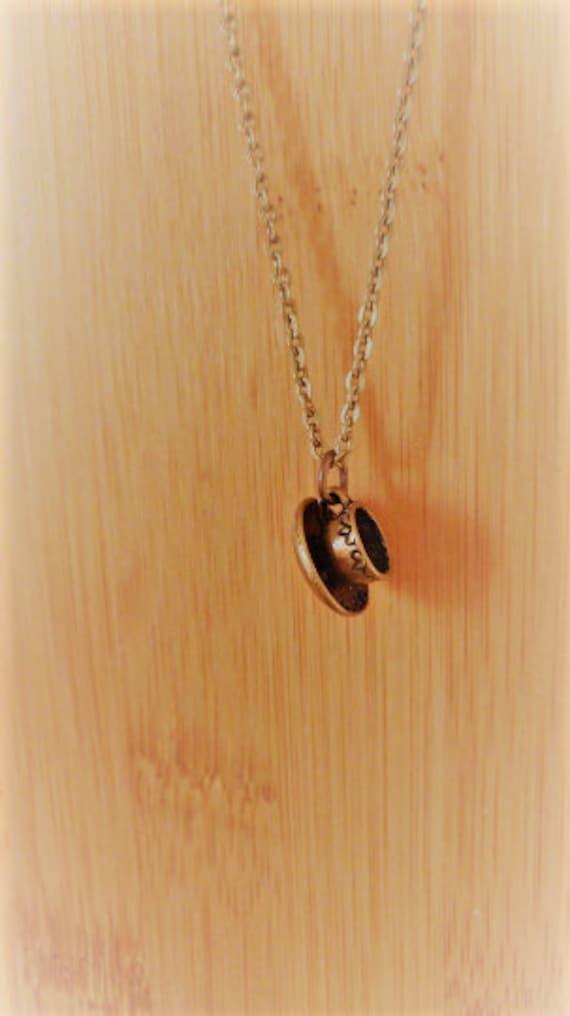 Serendipi-Tea Cup Necklace