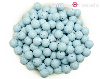 Loose BPA free silicone craft supplies Canada USA Europe.Wholesale Bulk Discount highest quality 12mm Speckled Lilac Round Silicone Beads