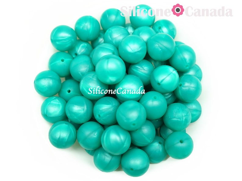 9mm Metallic Green Round Silicone Beads Loose,highest quality,BPA free silicone craft supplies Canada USA Europe.Wholesale Bulk Discount